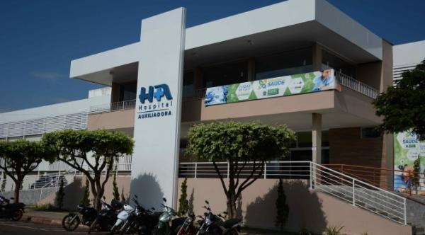 Idosa estava internada no Hospital Nossa Senhora Auxiliadora. (Foto: Arquivo)