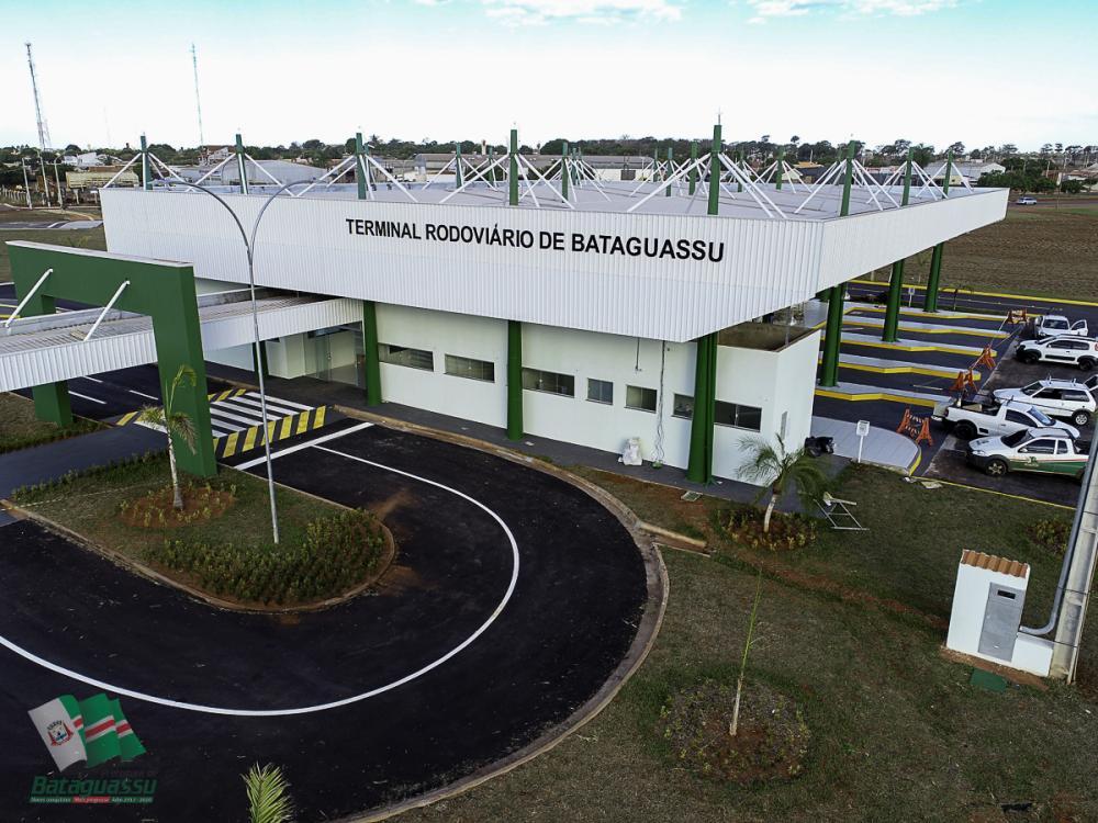 Bataguassu inaugura amanhã Terminal Rodoviário